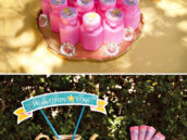 Cinderella Bubbles Party Favor