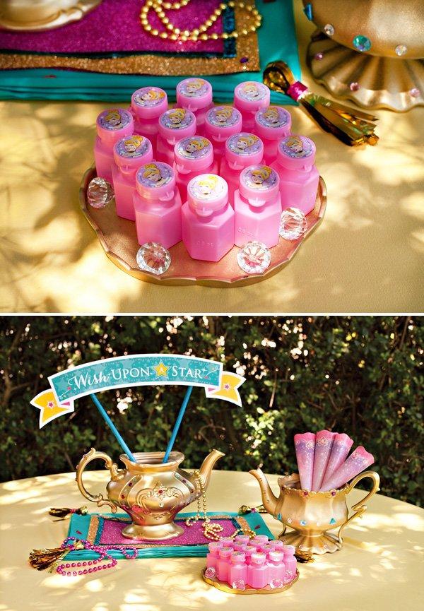 Cinderella Bubbles Party Favor