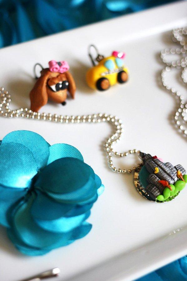 party theme jewelery