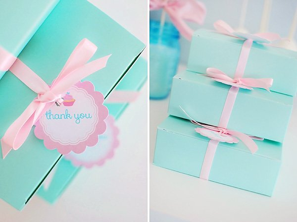 cupcake theme party favors