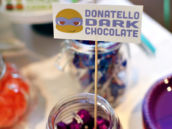 donatello's dark chocolate
