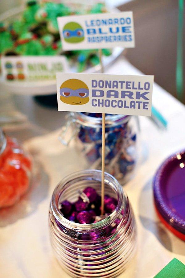 donatello's dark chocolate
