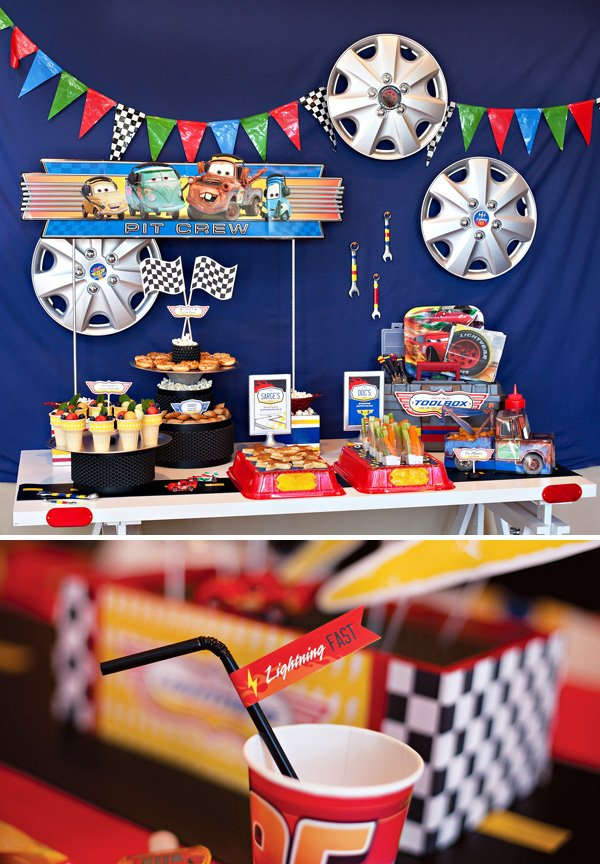 Super Cool Disney Pixar Cars Birthday Party Hostess With The MostessR
