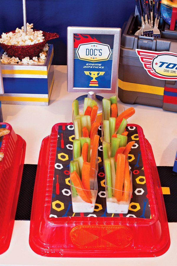 Disney Pixar Cars Veggie Dipsticks