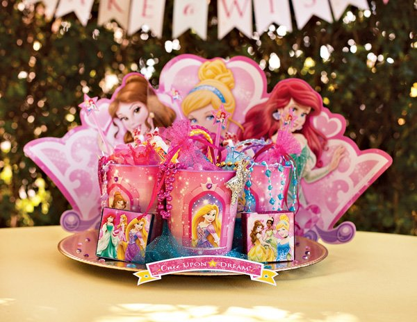 Disney Princess Birthday Party Favors
