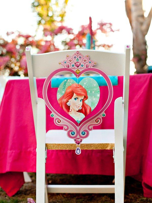 Princess Ariel Chair Back