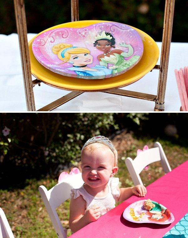 Disney Princess Heart Plates