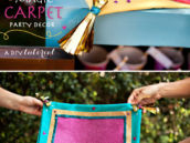 DIY Tutorial - Magic Carpet Party Decorations