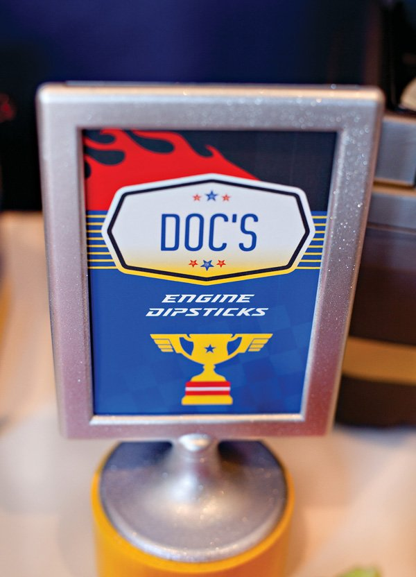 Doc's Engine Dipstick Printable Sign