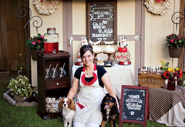 Dog Bakery Birthday