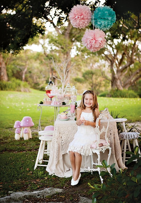 dreamy tea party