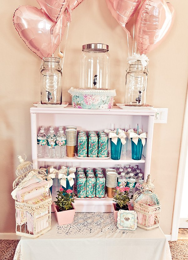 girly drink station