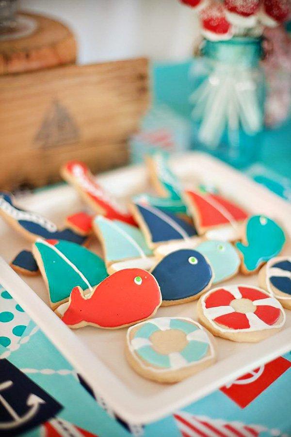 Fish and Lifesaver Cookies