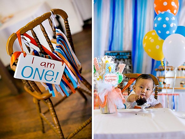 Fish Theme First Birthday