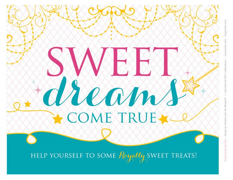 graphic regarding Free Printable Banners and Signs called Totally free Printables: Sparkly Disney Princess Birthday Get together