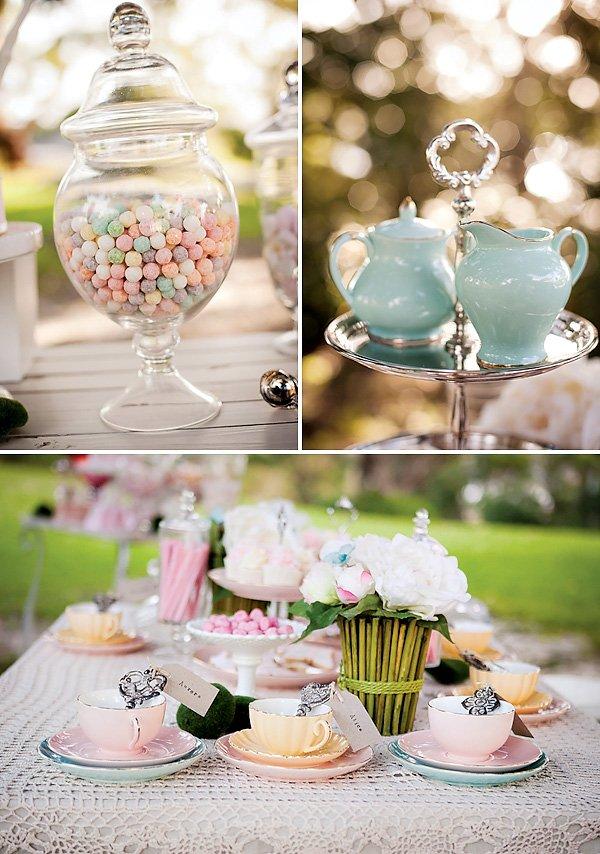 girly tea party