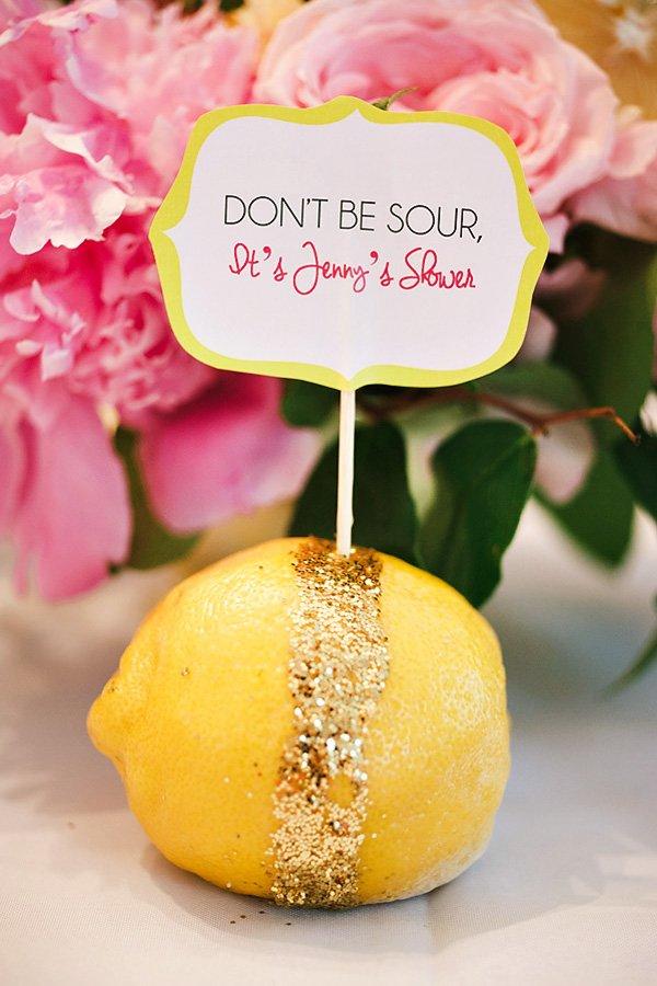 glitter lemons