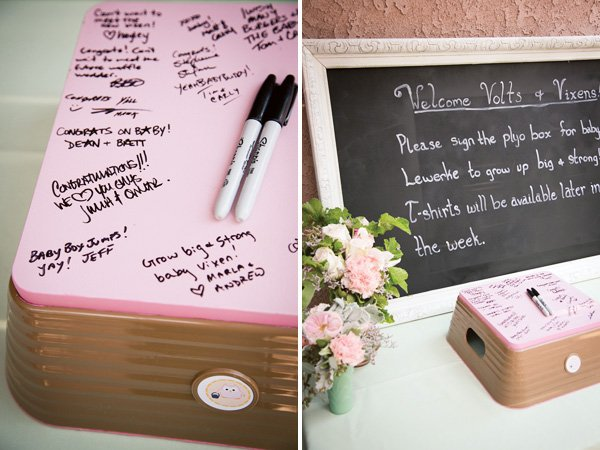 Baby Shower Sign In Book Ideas ~ Baby shower guest signing book ideas cute for