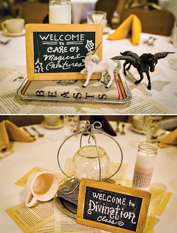 harry potter centerpieces
