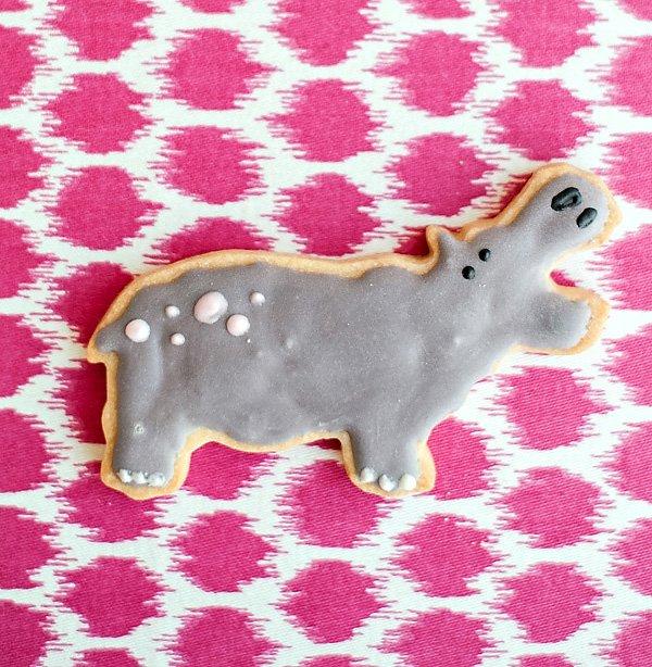 hippo cookies