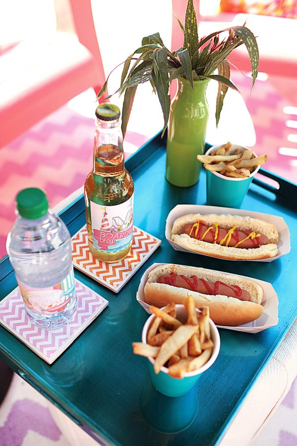 Hot Dog Lunch