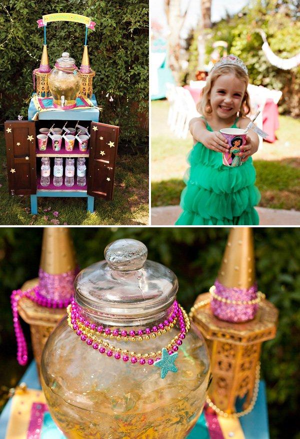 Princess Jasmine Drink Station