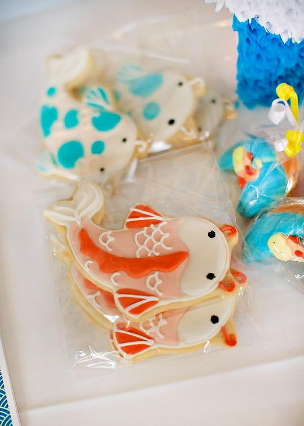 Koi Fish Cookies