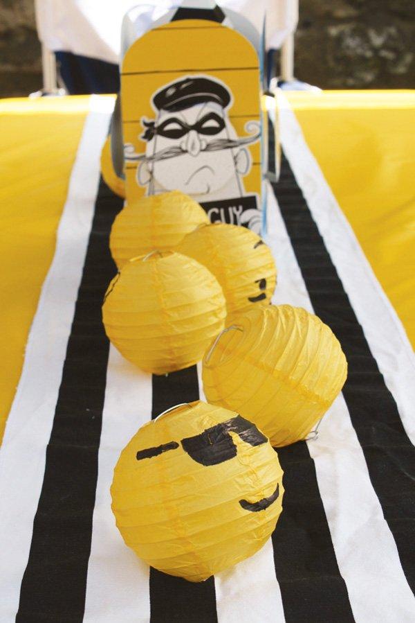 Lego Paper Lanterns