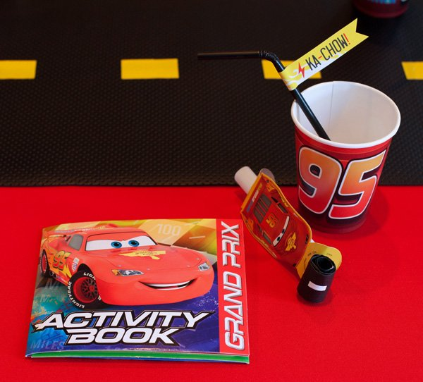 lightning mcqueen party cup