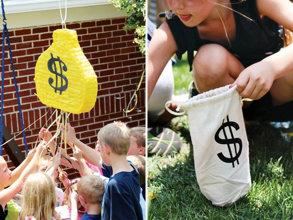 Money Bag Pinata