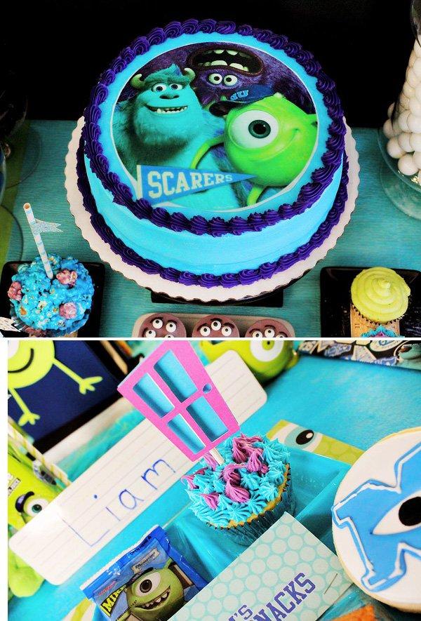 scare school cake