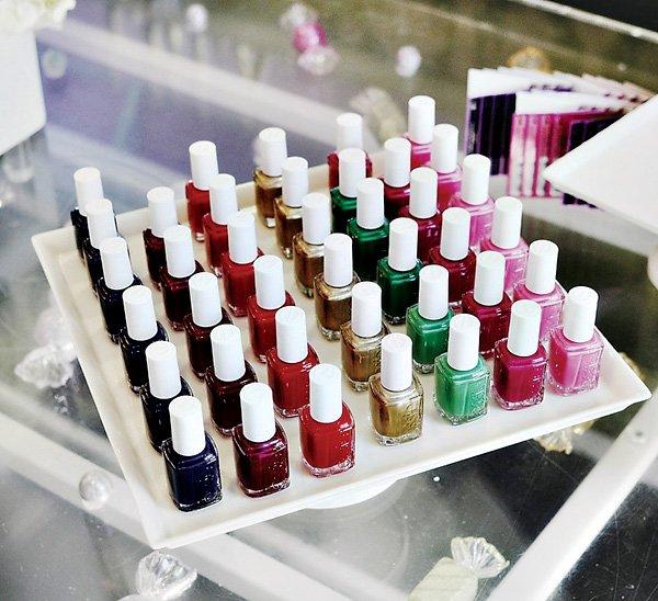 nail polish favors