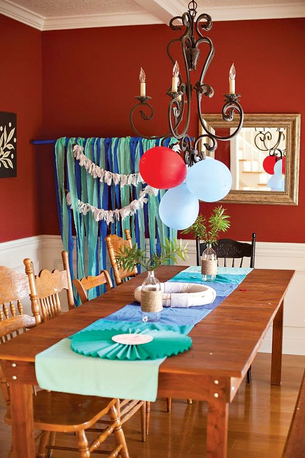 Cute Amp Crafted Nautical Birthday Party Hostess With The