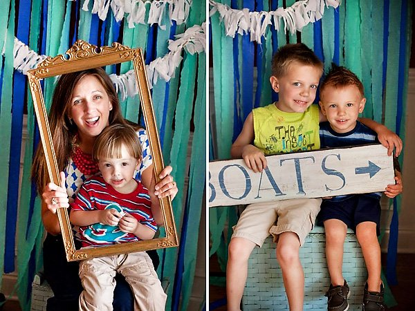 Cute Nautical Photo Booth Props