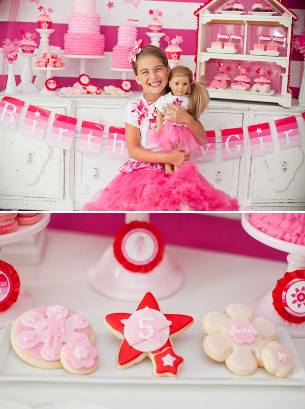 Ombre American Girl Birthday Party
