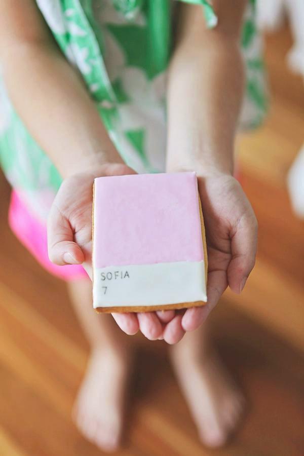 Pink Pantone Cookie