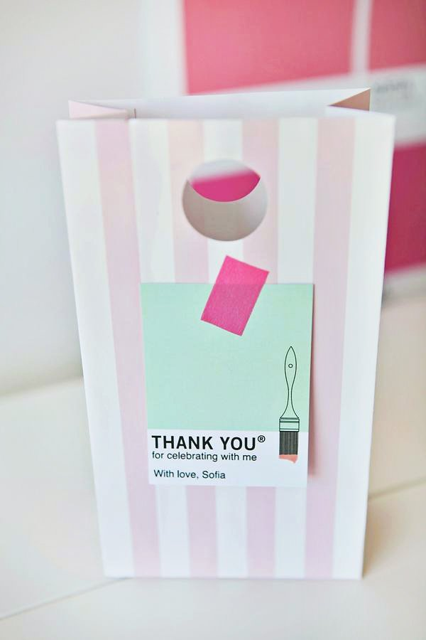 Pantone Party Favors