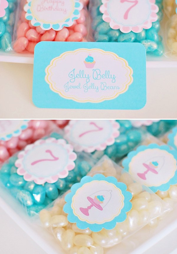 pearl and jelly belly favors