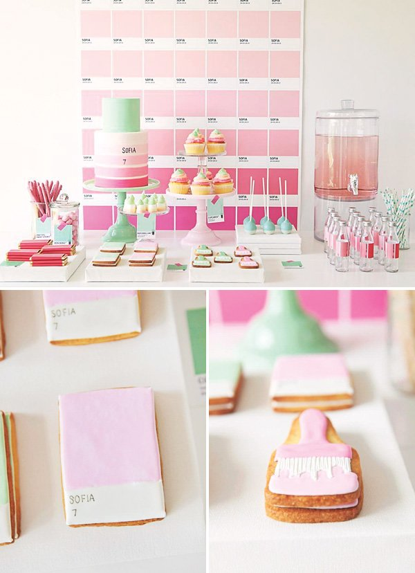 Pink Ombre Pantone Party