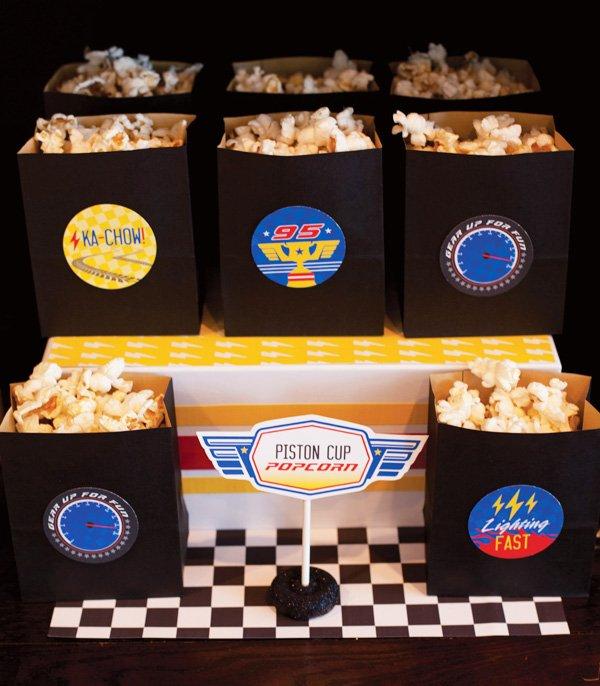 Piston Cup Popcorn