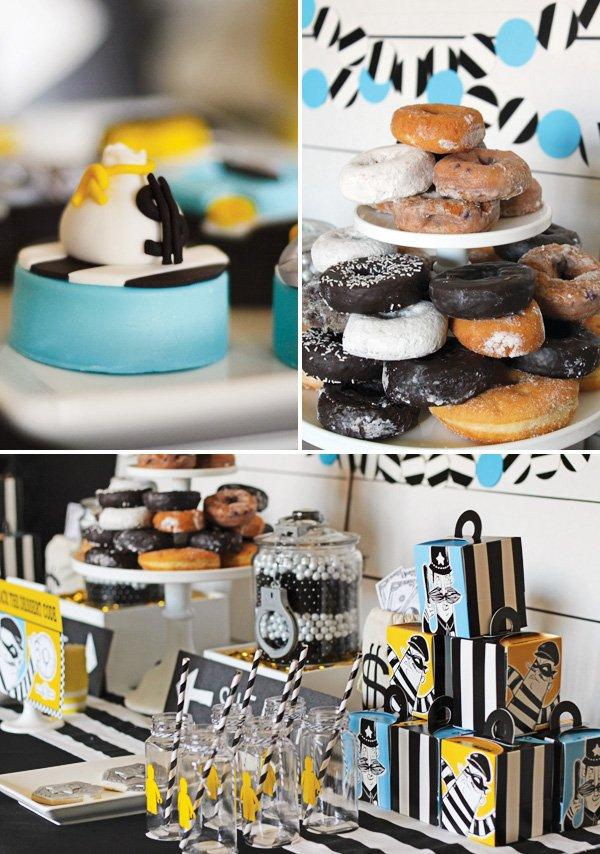 Police Party Dessert Ideas