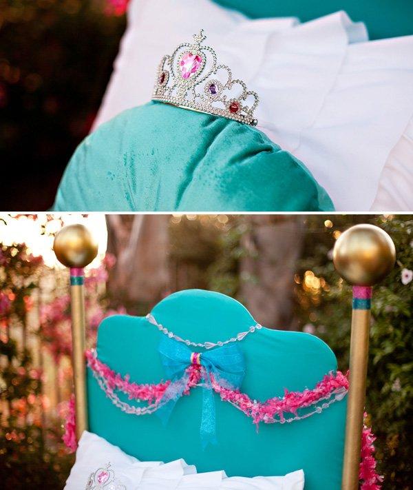Princess Bed Dessert Table