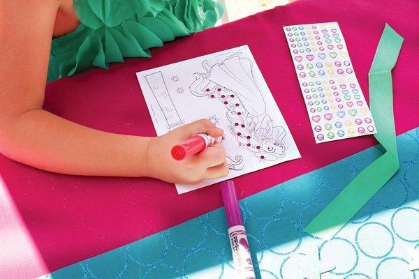 Disney Princess Coloring Activity