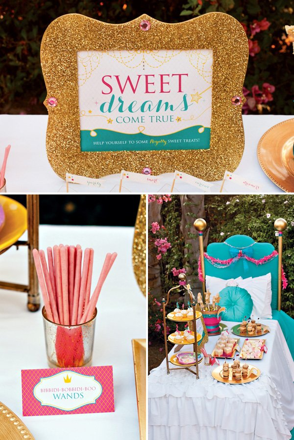 Sweet Dreams Come True Dessert Table Sign