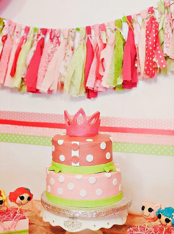 princess lalaloopsy cake