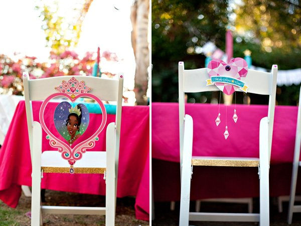 Disney Princess Party Chairs