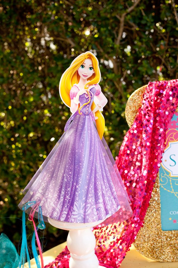 disney princess party - tangled rapunzel decoration
