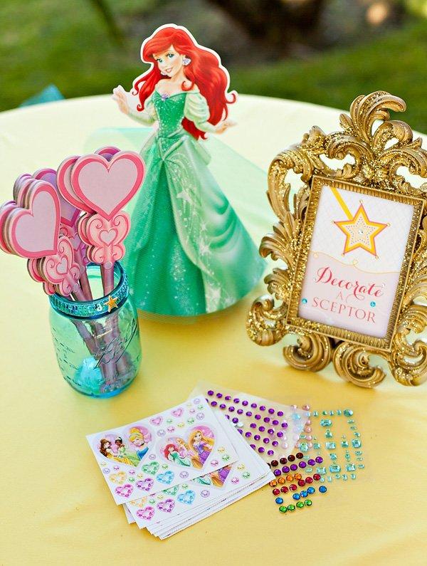 Princess Wand Decorating Activity