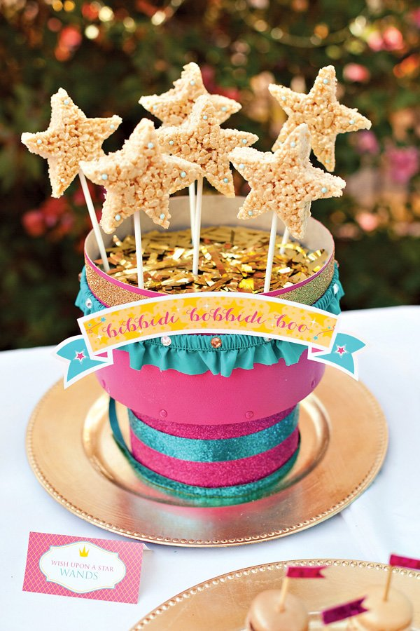 Rice Krispie Treat Star Wands