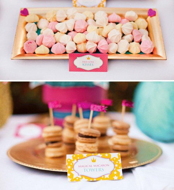 Princess Themed Desserts